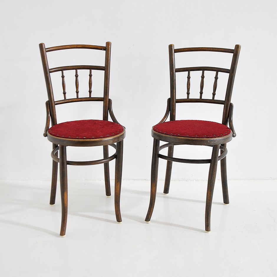 Оригинальные Thonet chairs by FISCHEL. Богемия